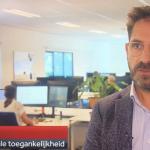 Ron Beenen toegankelijkheidsexpert bij NOS Journaal